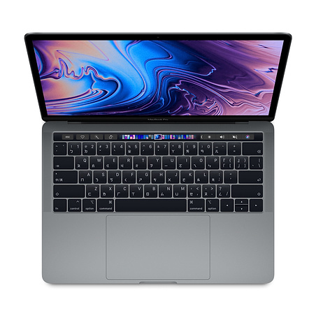 Apple MacBook Pro 13.3吋/2.3GHZ QC/8GB/256GB-Touchbar (MR9Q2TA/A) 太空灰